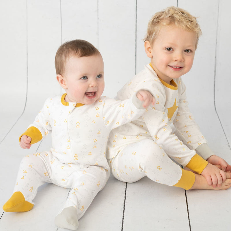 Scandi Star Sleepsuit