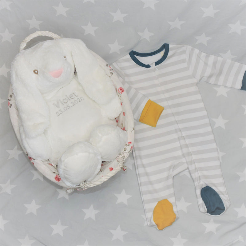 Bunny rabbit pyjama case