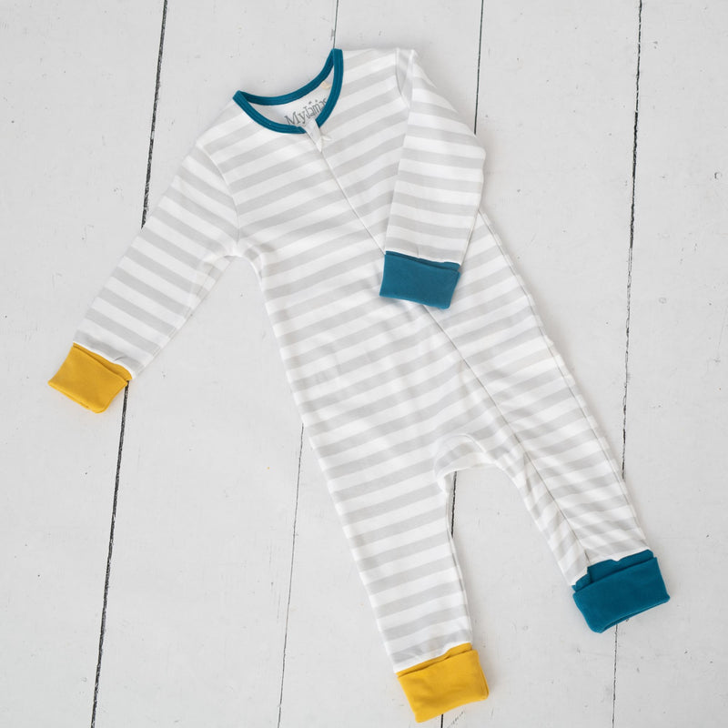 Stripes Sleepsuit