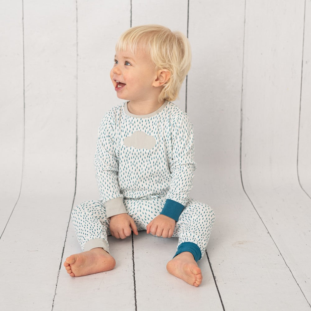Rain Cloud Unisex Pyjamas