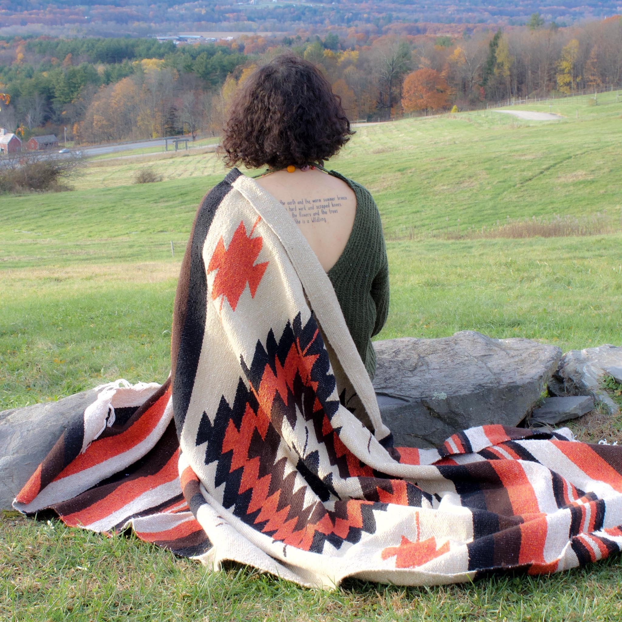 Diamond Blanket - Red Earth