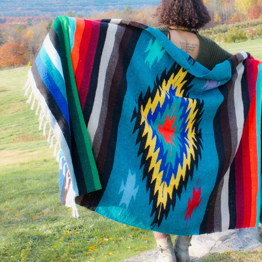 Diamond Blanket - Teal
