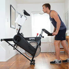 Load image into Gallery viewer, Spinning L1 Connected SPIN Exercise Bike w/ Tablet Mount - Barbell Flex