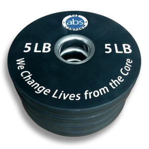 5LB Olympic Weight Plates - Barbell Flex