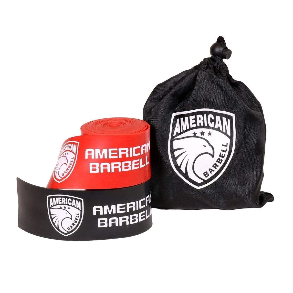 American Barbell 2 pieces 7-feet Compression Floss - Barbell Flex