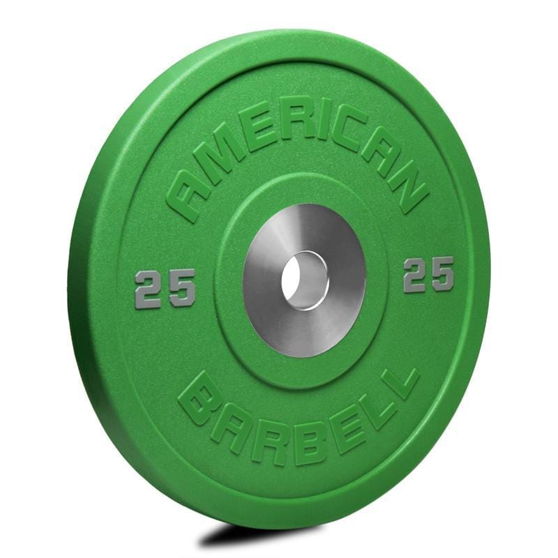 American Barbell Deluxe Color LB & KG Urethane Pro Series Bumper Plates - Pairs and Sets - Barbell Flex