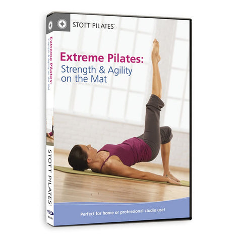 Merrithew Extreme Pilates, Strength & Agility on the Mat Workout DVD - Barbell Flex
