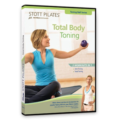 Merrithew Total Body Toning Workout DVD - Barbell Flex