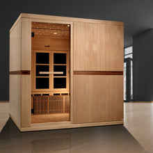 Load image into Gallery viewer,  Golden Designs Catalonia 8-Person Ultra Low EMF FAR Infrared Sauna - Barbell Flex