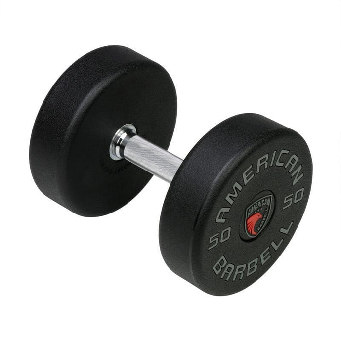 American Barbell Series 1 Urethane LB Textured Dumbbell Set - Barbell Flex