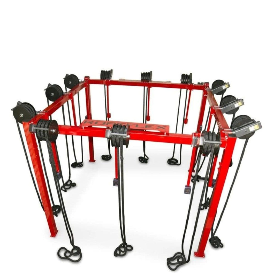 RopeFlex RX8100 Spartan Rope Training Rig - Barbell Flex