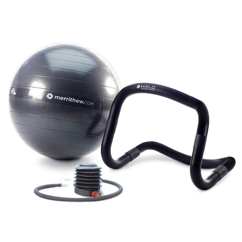 Merrithew Halo Trainer Plus 4 with Stability Ball & Pump - Barbell Flex