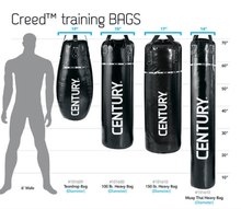 Load image into Gallery viewer, Century Creed 100LB Muay Thai Heavy Hanging Bag - Barbell Flex