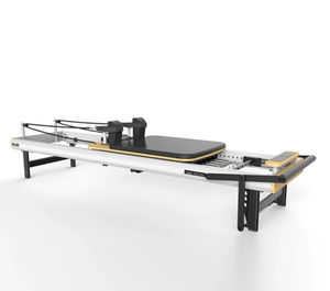 Peak Pilates Casa Reformer Jumpboard Bundle - Barbell Flex
