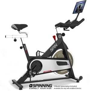 Spinning L9 Connected SPIN Exercise Bike w/ Tablet Mount - Barbell Flex