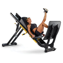 Load image into Gallery viewer, Total Gym ELEVATE Adjustable Incline Squat Jump Exercise Machine - Barbell Flex