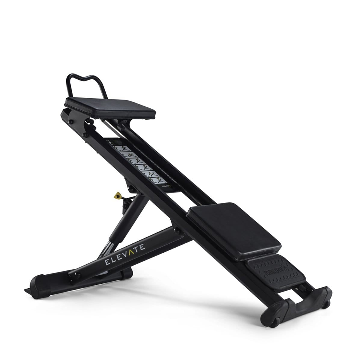Total Gym ELEVATE Core Adjustable Abdominal Strength Exercise Machine - Barbell Flex