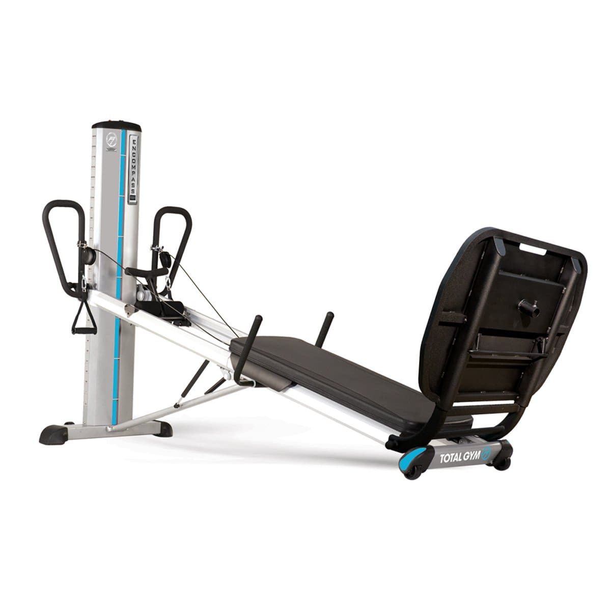 Total Gym Encompass Commercial PowerTower Recovery Workout Machine - Barbell Flex