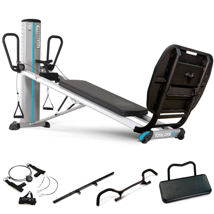 Total Gym Encompass Power Tower Sports Recovery Clinical Package - Barbell Flex