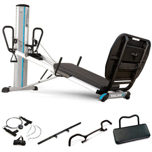 Total Gym Encompass Power Tower Strength Training Clinical Package - Barbell Flex