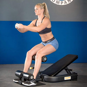 X3S PRO Ab Incline Core Bench - Barbell Flex