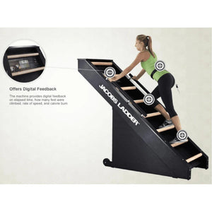 Jacobs Ladder Original Climbing Cardio Machine - Barbell Flex