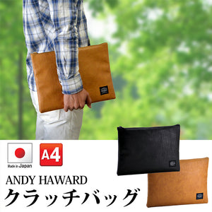 ANDY HAWARD 日本製皮革手提包
