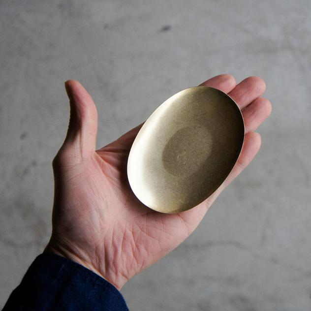 Picus 日本黃銅精品 小物托盤 Oval Tray
