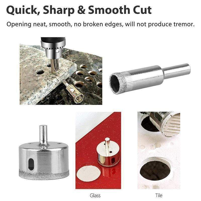 Diamond Coated Drill Bits - SNAPPYFINDS.COM ™