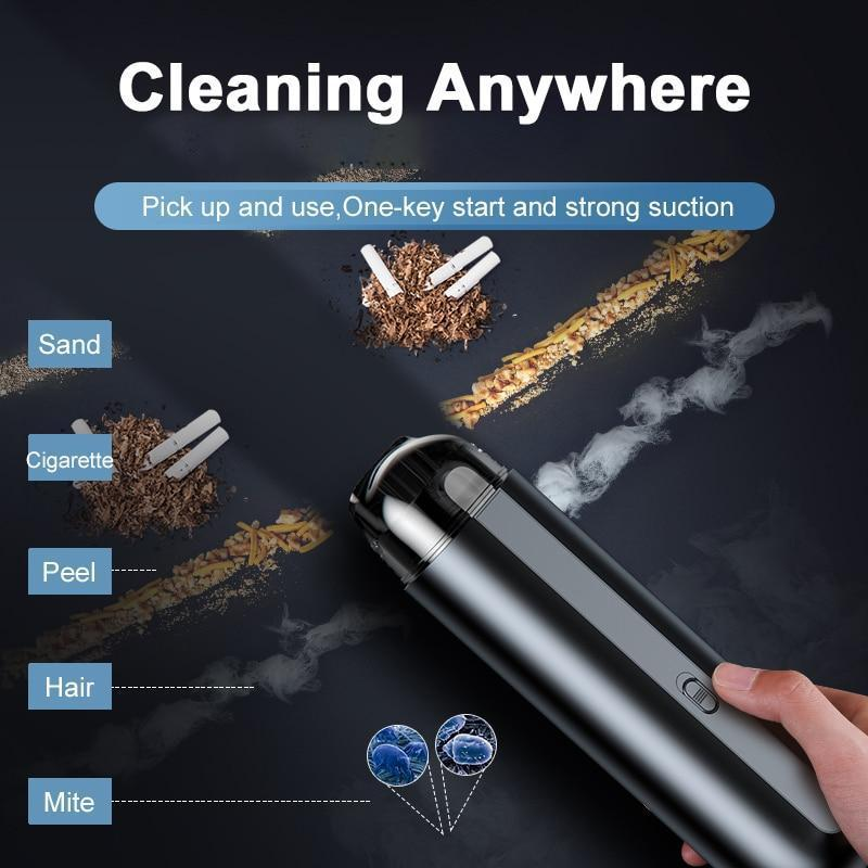 Mini Cordless Car Vacuum Cleaner - SNAPPYFINDS.COM ™