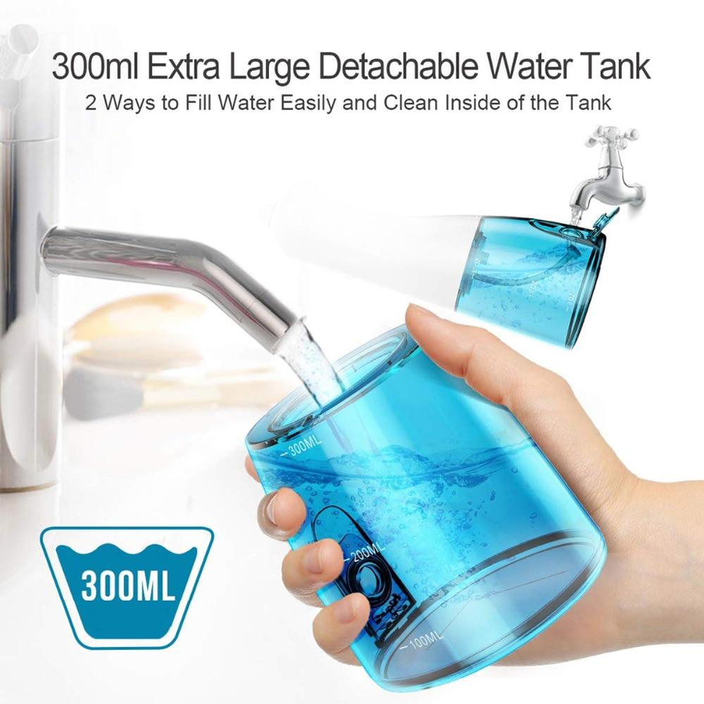 Portable Water Flossing Irrigator | Cordless Dental Cleaner - SNAPPYFINDS.COM ™