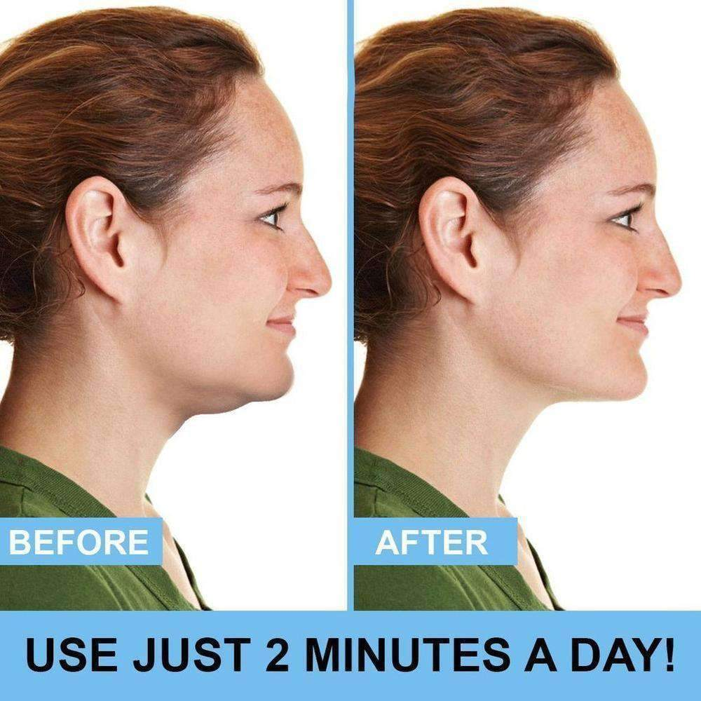 SlimlineNeck™ - Portable Neck and Chin Slimmer - SNAPPYFINDS.COM ™