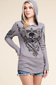 Vocal Long Sleeve Hooded Tee