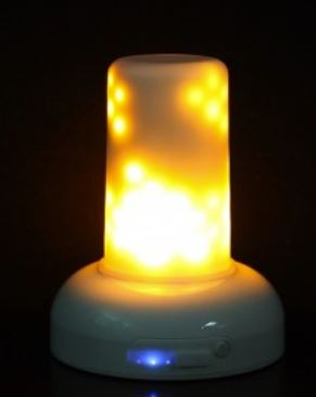 Flame Wave LED Candle
