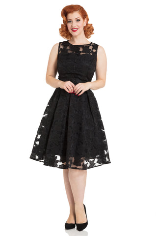 Voodoo Vixen Evelyn Floral Dress