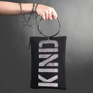 Be Kind Canvas Purse