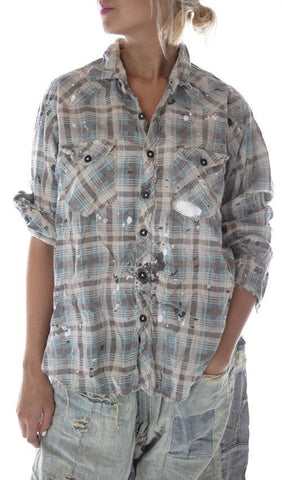 European Cotton Kelly Western Shirt
