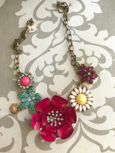 Vintage redesigned necklace