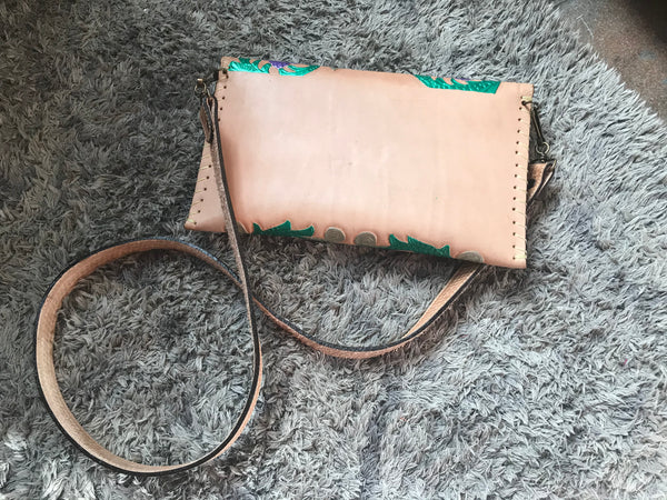 Gael de la Torre Leather Purse