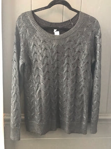 Halogen Cable Knit Sweater