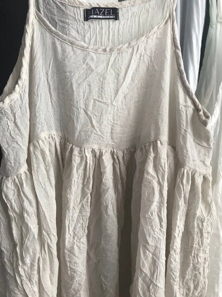 Cotton Sheer Dress