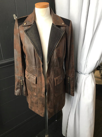 Insight Faux Leather Jacket
