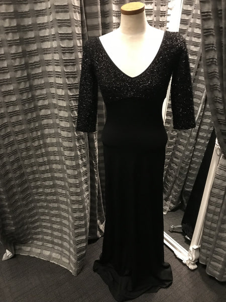 Cache Sweater Top Evening Gown