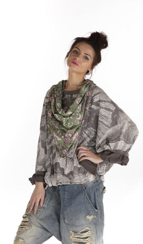 Magnolia Pearl Thin Cotton Dosa Scarf