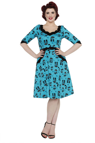 Voodoo Vixen Kitty Kat Dress