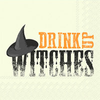 Drink Up Witches Cocktail Napkin
