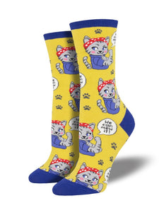 You Can Mew It Socks
