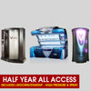 All Access Unlimited Tanning Half Year Pckg