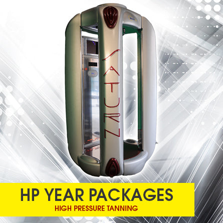 High Pressure Tanning UNLIMITED Year Packages