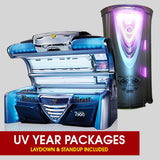 UV Tanning UNLIMITED Year Packages